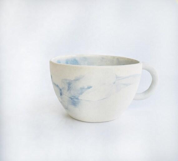 Blue Marble Mug Modern Minimal #mug