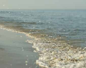 Strand-Wand-Dekor, Ozean Fotografie Druck, Aqua blaue Meer schäbige schicke Strand Geschenk für Frauen Ozean drucken, Türkis nautischen Schlafzimmer Kunstwerk