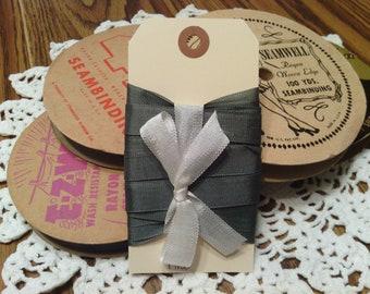 Vintage Pine Rayon Seam Binding