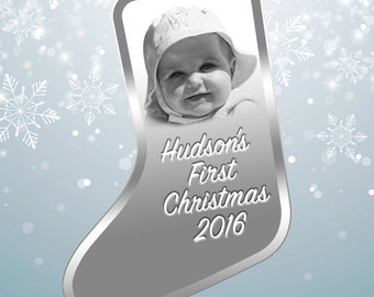 Photo Crystal Ornament- Laser Engraved Picture in Glass Ornament - SH28 By Goodcount Crystal Gift**Free Shipping