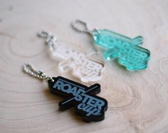 Custom Laser Engraved Acrylic Keychain