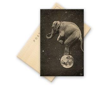 Big Top - Solid Wood Postcard