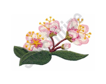 Blossoms - Machine Embroidery Design, Flowers
