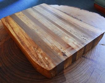 Live edge Ash/Cedar cutting board