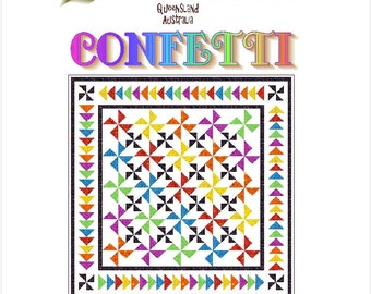 CONFETTI - Quilt-Addicts Patchwork Quilt Pattern
