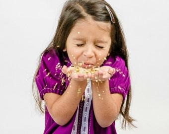 girls peasant dress - girls dresses - boho dress - boho dress baby - purple dress - bohemian dress - boho flower girl dress - tunic dress