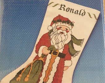 Counted Crossstitch Christmas Stocking Kit