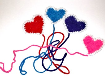2 Cat Toys Heart Pullies