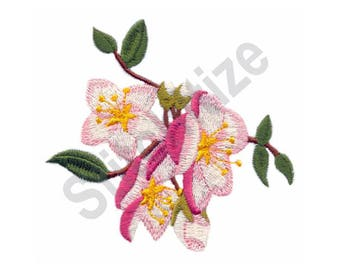 Flowers - Machine Embroidery Design, Hanging Blossoms