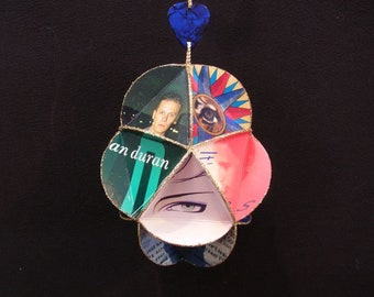 Duran Duran Album Cover Ornament Made From Record Jackets