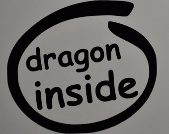 Dragon Inside Decals