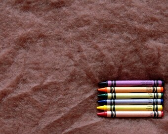 MAORI WOOL BATTING - Lace - wool fiber for needle felting and wet felting (approximately 1 ounce) - From Purple Moose Felting