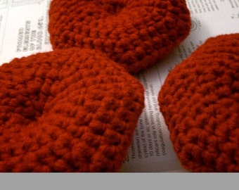 Crochet Plush Red Blood Cell