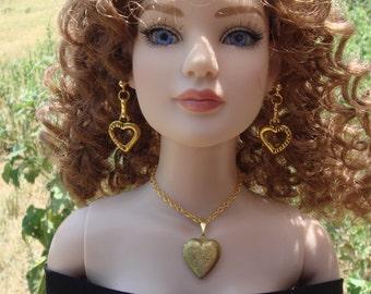 "Tonner American Model #16 Cissy 1/3 BJD SD 20"" To 24"" Doll Jewelry Set"