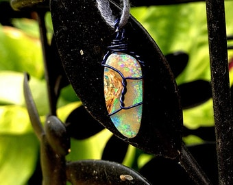 Place a Custom Order For a Simple Copper Wire-Wrapped Healing Crystal (Necklace or Bracelet)