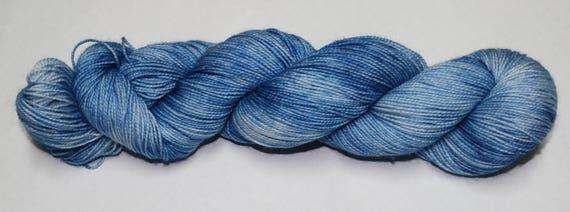 It Rains A Lot In Scotland Hand Dyed Sock Yarn