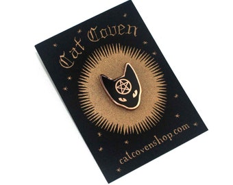 Cat Coven - Copper Pin