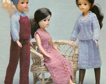PDF Knitting Pattern SINDY Doll Outfits Instant Download