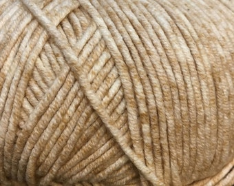 Sand Cascade Sarasota Cotton and Acrylic Tweed Yarn 314 yards Color 09