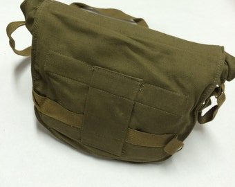 shoulder bag canvas soviet russian military army bag gas mask PBF EO-19 bag messanger bag