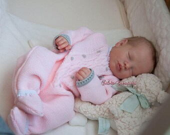 CUSTOM REBORN BABY ~ Priscilla Asleep by Realborn ~ 6 month layaway
