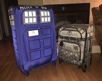 Doctor Who TARDIS/Dalek Luggage Set