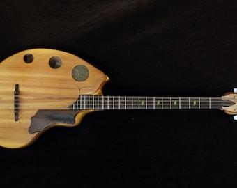 Flat Back Bouzouki, Octave mandolin. Rays Rootworks.