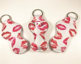 Lips Chapstick Holders, Chapstick Keychain, Chapstick Holder