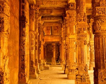 India photography, architecture, wall art, architecture art