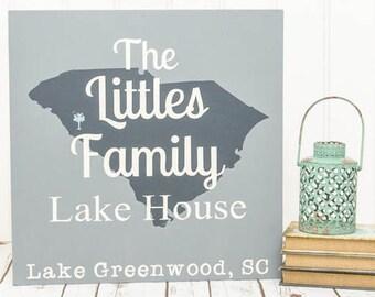 Lake House Decor - Lake House Sign - Lake Decor - Nautical Decor - Lake House - Lake Sign - Cabin Decor - Wood Sign - Lake House Art