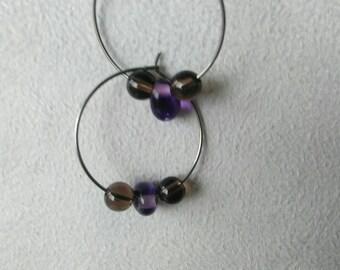 """""""Nebula Butterfly 5"""" hoop"""