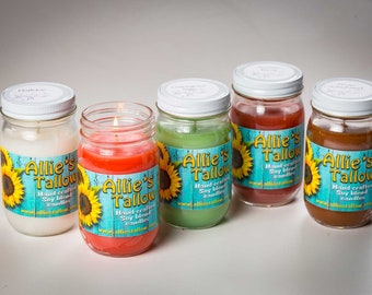 Country line Soy Blend Candles