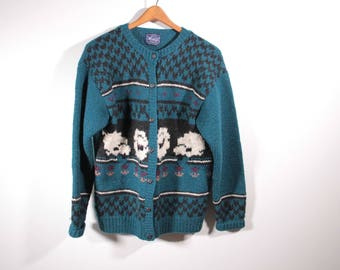 Woolrich woman's fisherman sweater