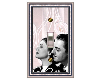 1118a - Hollywood Myrna Loy / William Powell - mrs butler switch plate covers -