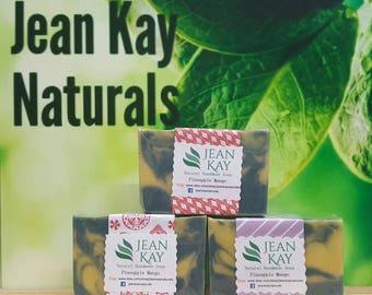 Pineapple Mango, Homemade Soap, Cold Process Soap, Luxury Soap, Natural Soap, Soap, Artisan Soap
