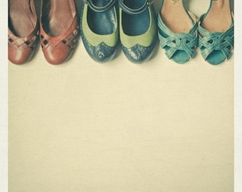 The Shoe Collection 5 x 5 Print