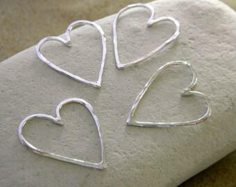 Wild Love Heart in Sterling Silver
