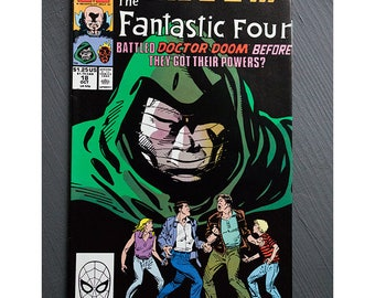 What If Number 18 1989 Fantastic Four
