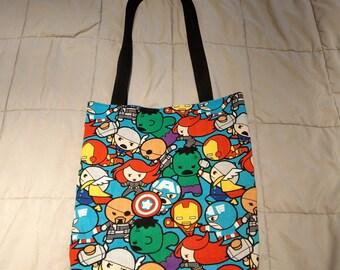Avengers Inspired Tote Bag