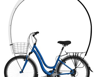 Kaps, le parapluie aérodynamique à installer sur son vélo