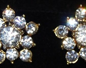 signed coro earrings