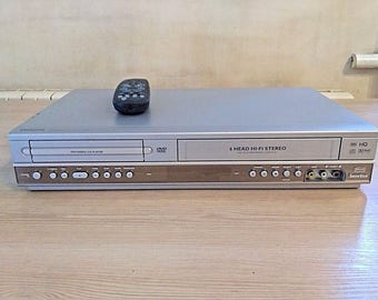 Philips DVP721VR VHS VCR Video recorder Player and DVD player combo