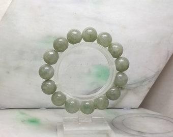 Light green beads bracelet