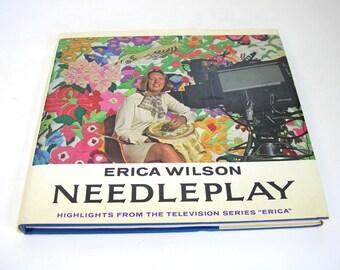 Erica Wilson Needleplay, Vintage Book