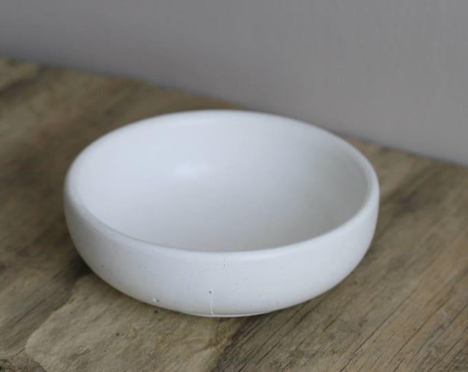 Medium Round Concrete Decorative Bowl | Planter | Candleholder | Display | Urban | Industrial