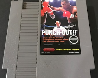 Nintendo NES Mike Tyson's Punch Out Free Shipping!
