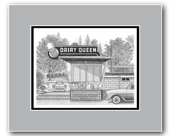 Sweet Nostalgia - Matted Limited Edition Print