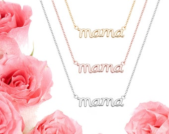 Mothers Necklace, Mother's Day Necklace, Mama Necklace, Mothers Day Gift, Mother Gift, Mother Jewelry