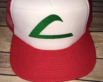 Ash Trainer Hat Cap Costume Accessory