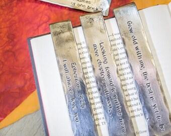 Personalised Iron Bookmark